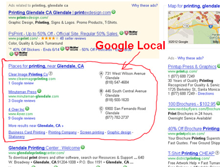 google local seo submit express