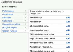 search-funnel-metrics
