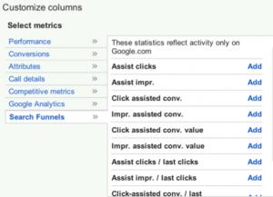 search-funnel-metrics